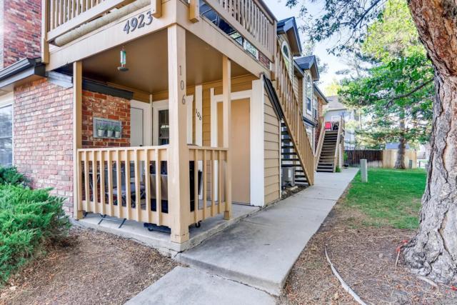 4923 S Carson Street #106, Aurora, CO 80015 (MLS #2664601) :: 8z Real Estate