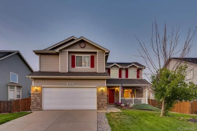 1623 E 164th Place, Thornton, CO 80602 (#2665907) :: Compass Colorado Realty