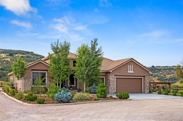 5285 E State Highway 86, Franktown, CO 80116 (#2666593) :: Own-Sweethome Team