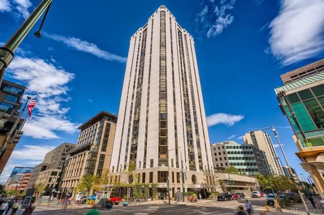 1625 Larimer Street #706, Denver, CO 80202 (MLS #2669540) :: Bliss Realty Group