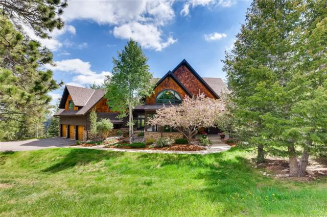 31525 Golden Meadow Drive, Evergreen, CO 80439 (#2669686) :: Bring Home Denver with Keller Williams Downtown Realty LLC