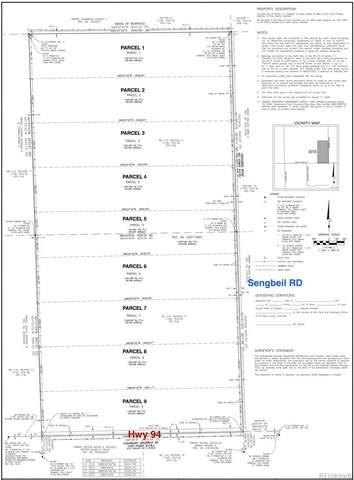 Parcel 9 Sengbeil Road, Yoder, CO 80864 (#2672930) :: Peak Properties Group