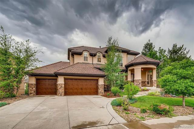 9561 S Shadow Hill Circle, Lone Tree, CO 80124 (#2674879) :: The Brokerage Group