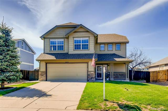 1449 N Monument Drive, Castle Rock, CO 80104 (MLS #2682286) :: 8z Real Estate
