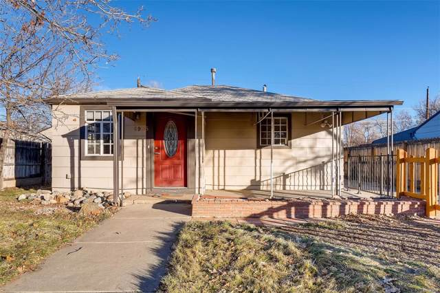 6935 W 55th Place, Arvada, CO 80002 (#2683757) :: The Peak Properties Group