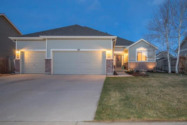 481 Frontier Lane, Johnstown, CO 80534 (#2684972) :: The Griffith Home Team