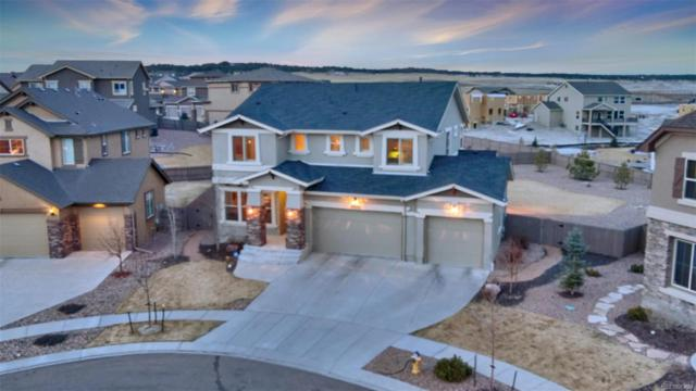 5286 Chimney Gulch Way, Colorado Springs, CO 80924 (#2686056) :: The Pete Cook Home Group
