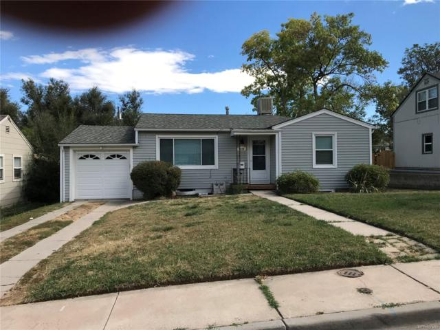 4670 S Bannock Street, Englewood, CO 80110 (#2687231) :: House Hunters Colorado