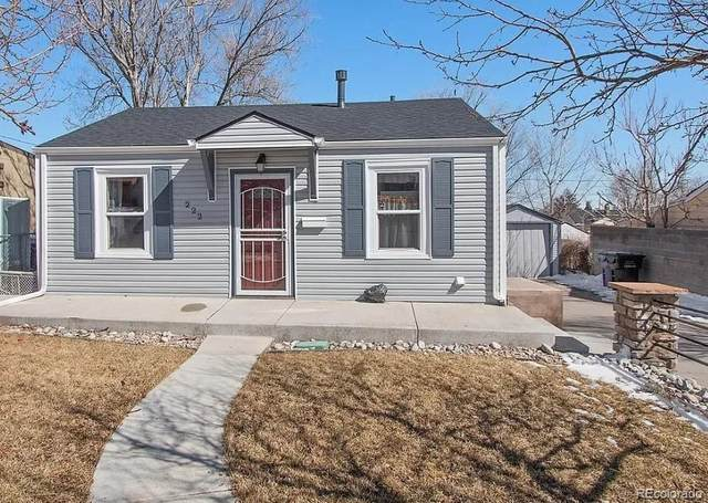 222 S Decatur Street, Denver, CO 80219 (#2688540) :: Re/Max Structure