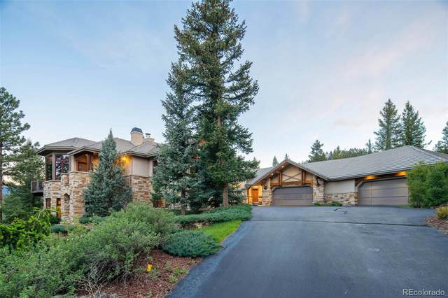 4128 Wild Flower Court, Evergreen, CO 80439 (MLS #2692551) :: Clare Day with LIV Sotheby's International Realty