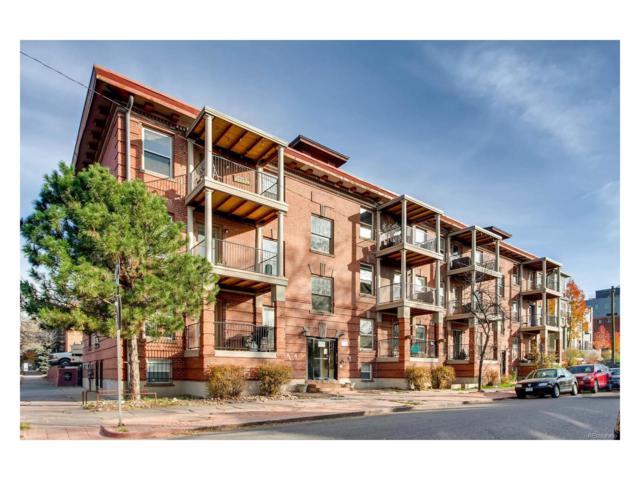 1374 N Ogden Street #3, Denver, CO 80218 (#2697045) :: The Peak Properties Group