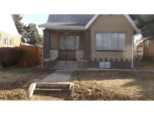 2644 Glencoe Street, Denver, CO 80207 (#2698908) :: House Hunters Colorado