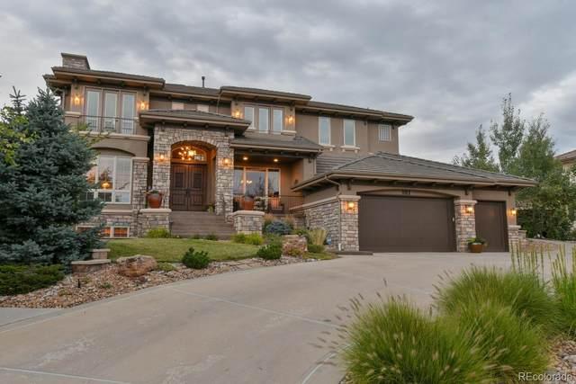 981 Buffalo Ridge Road, Castle Pines, CO 80108 (#2700963) :: Wisdom Real Estate