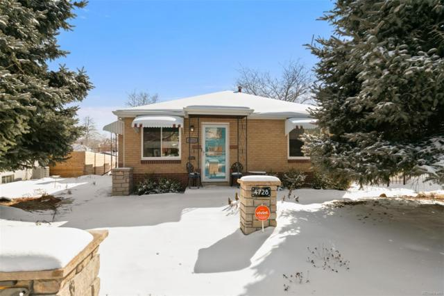 4728 W 32nd Avenue, Denver, CO 80212 (#2705239) :: The Heyl Group at Keller Williams
