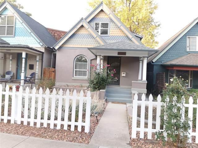 3481 W 33rd Avenue, Denver, CO 80211 (#2706485) :: Wisdom Real Estate