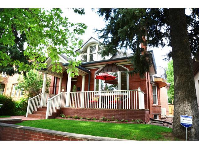 434 Clarkson Street, Denver, CO 80218 (MLS #2706951) :: 8z Real Estate