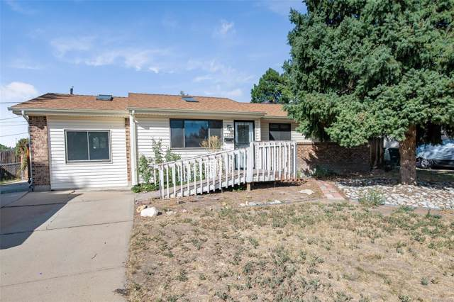13867 E 32nd Place, Aurora, CO 80011 (#2717625) :: HomeSmart Realty Group