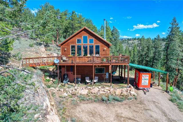 3681 County Road 72, Bailey, CO 80421 (MLS #2718641) :: 8z Real Estate