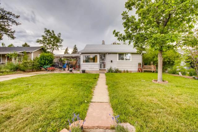 1271 Uinta Street, Denver, CO 80220 (#2719755) :: The Heyl Group at Keller Williams