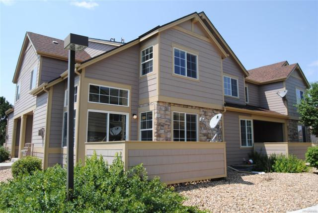 2605 Cutters Circle #103, Castle Rock, CO 80108 (#2720740) :: The Pete Cook Home Group