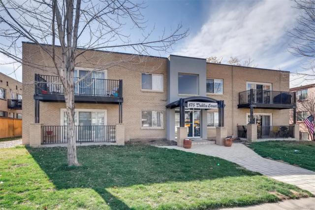 875 Dahlia Street #103, Denver, CO 80220 (MLS #2721269) :: 8z Real Estate