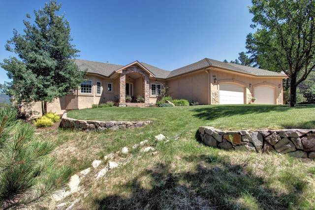 14315 S Woodcrest Circle, Larkspur, CO 80118 (#2723602) :: HomeSmart Realty Group
