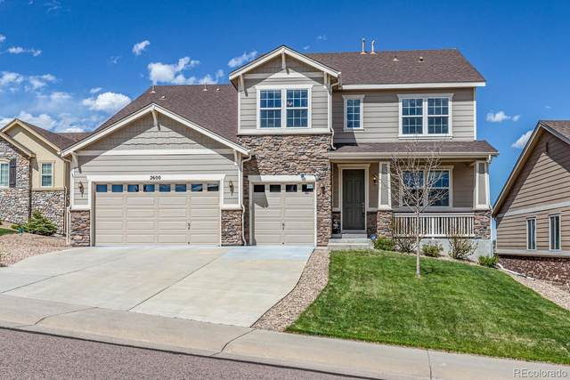 2600 Dublin Drive, Castle Rock, CO 80104 (#2726223) :: RazrGroup