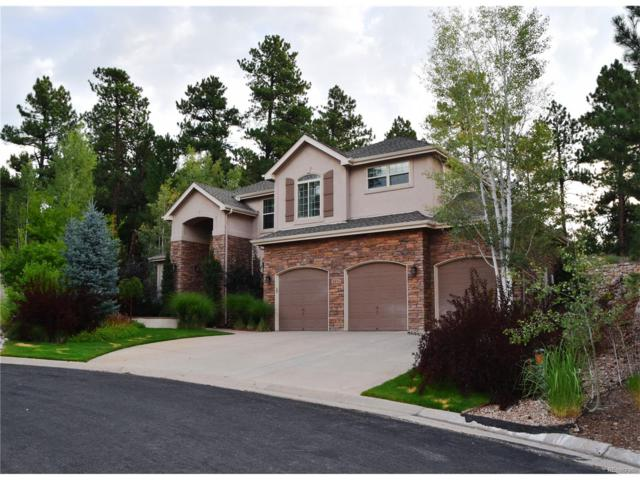 6976 Glenhunt Lane, Castle Pines, CO 80108 (#2728150) :: The Thayer Group