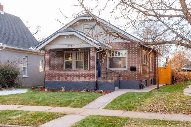 1177 S Clarkson Street, Denver, CO 80210 (#2731759) :: Bring Home Denver with Keller Williams Downtown Realty LLC