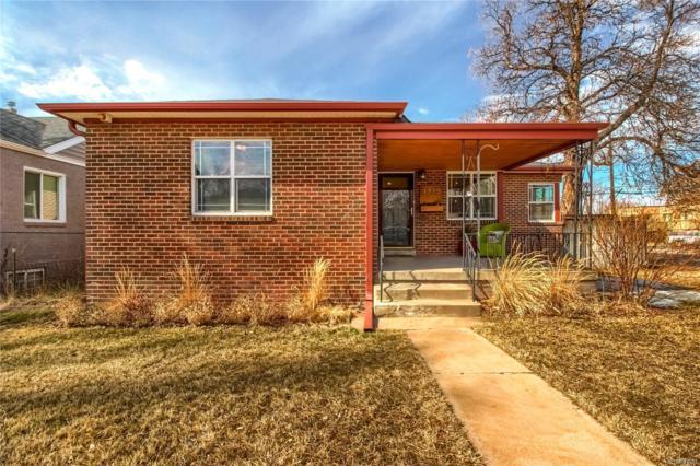 1375 Locust Street, Denver, CO 80220 (#2734358) :: The HomeSmiths Team - Keller Williams