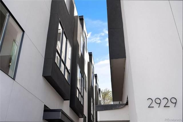 2919 W 23rd Avenue #7, Denver, CO 80211 (#2739649) :: Venterra Real Estate LLC