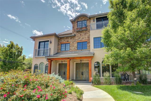 301 Harrison Street #102, Denver, CO 80206 (#2740333) :: Mile High Luxury Real Estate