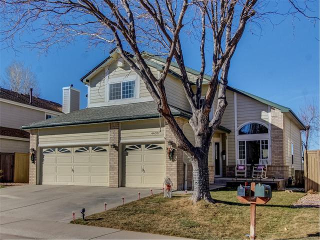 4433 W Mountain Vista Lane, Castle Rock, CO 80109 (#2742097) :: The Griffith Home Team
