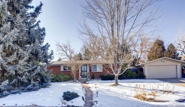 839 W Geddes Circle, Littleton, CO 80120 (#2747961) :: Bring Home Denver with Keller Williams Downtown Realty LLC