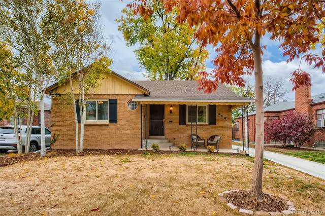 960 Grape Street, Denver, CO 80220 (MLS #2748000) :: Keller Williams Realty