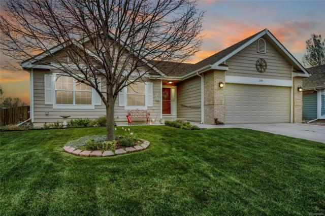 308 Hackberry Court, Eaton, CO 80615 (#2760542) :: House Hunters Colorado