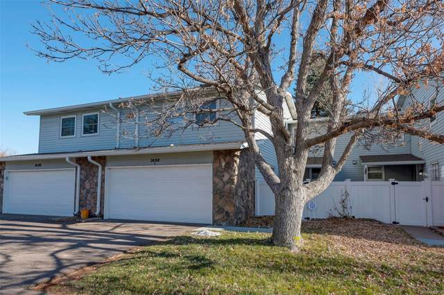 2698 S Vaughn Way B, Aurora, CO 80014 (#2764643) :: James Crocker Team
