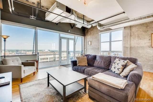 2020 Arapahoe Street #1210, Denver, CO 80205 (MLS #2768885) :: 8z Real Estate