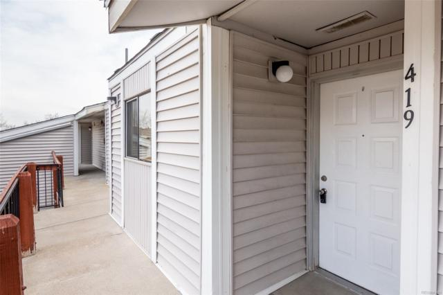 8635 Clay Street #419, Westminster, CO 80031 (#2771654) :: HomeSmart Realty Group