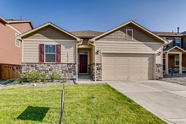 1074 Brio Street, Lochbuie, CO 80603 (MLS #2773015) :: The Sam Biller Home Team