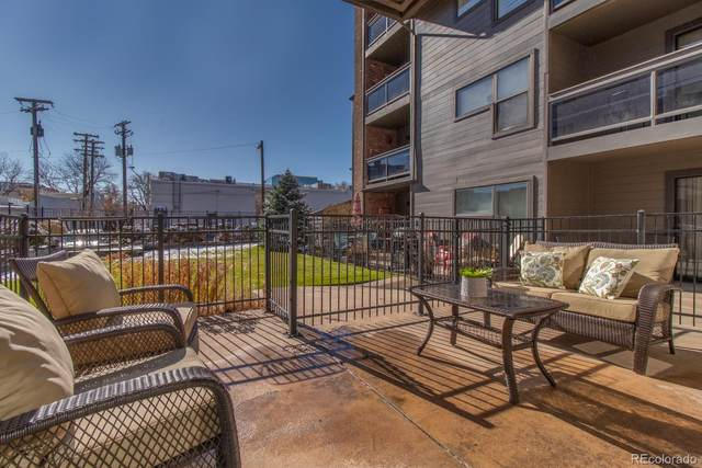350 Detroit Street #107, Denver, CO 80206 (#2773953) :: Briggs American Properties