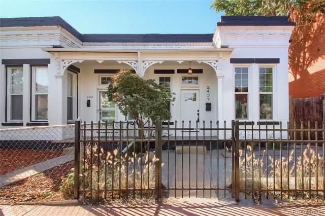 2437 Clarkson Street, Denver, CO 80205 (#2781049) :: Venterra Real Estate LLC