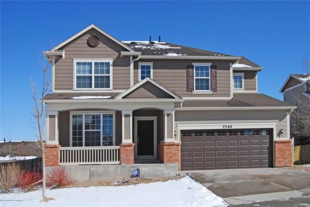 2360 Fairway Wood Circle, Castle Rock, CO 80109 (#2781697) :: HomeSmart Realty Group