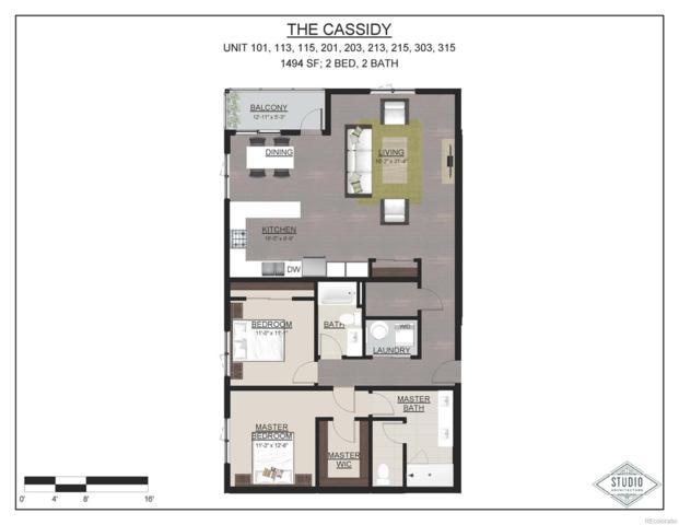 119 S Harrison Street #203, Denver, CO 80209 (#2784958) :: The Galo Garrido Group