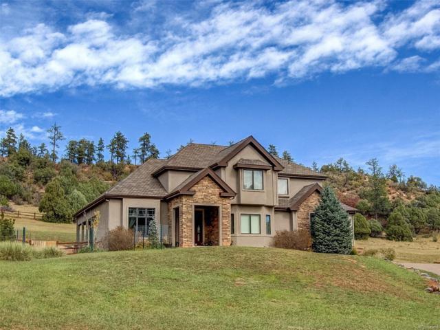 4593 Mohawk Drive, Larkspur, CO 80118 (MLS #2787721) :: 8z Real Estate