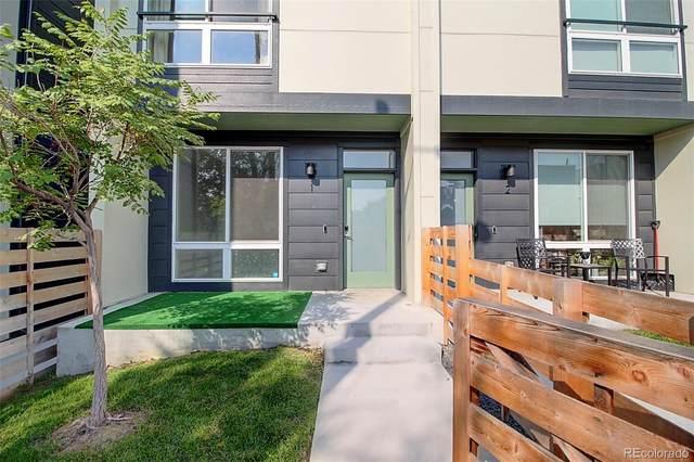 1644 Julian Street #1, Denver, CO 80204 (MLS #2787727) :: Stephanie Kolesar