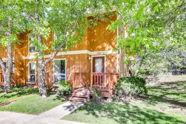 1195 Bear Mountain Drive D, Boulder, CO 80305 (MLS #2789570) :: Keller Williams Realty