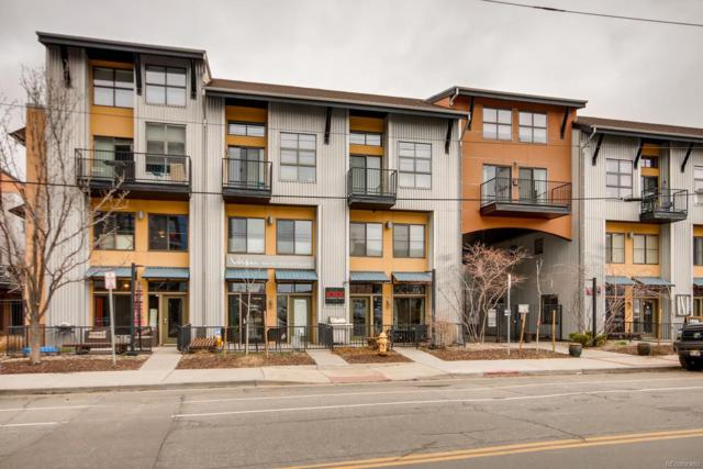 3195 Blake Street #203, Denver, CO 80205 (#2795540) :: 5281 Exclusive Homes Realty