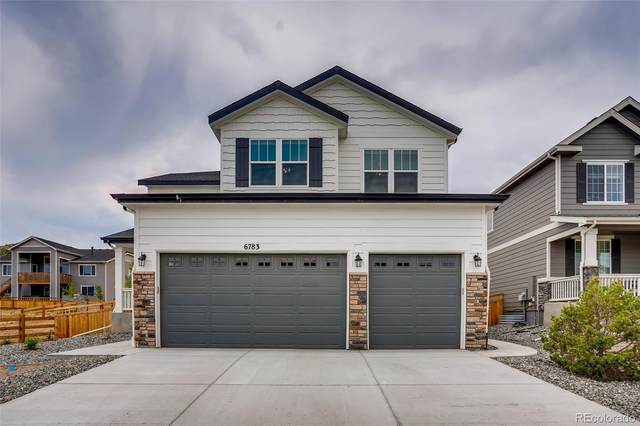 6783 Petunia Place, Castle Rock, CO 80108 (#2796688) :: The Colorado Foothills Team   Berkshire Hathaway Elevated Living Real Estate