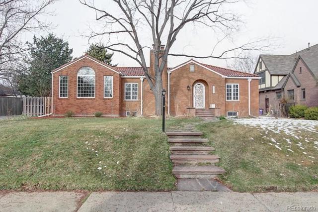 1731 Leyden Street, Denver, CO 80220 (#2800133) :: The Peak Properties Group